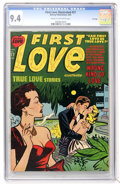 Golden Age (1938-1955):Romance, First Love Illustrated #27 File Copy (Harvey, 1953) CGC NM 9.4Cream to off-white pages....
