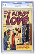 Golden Age (1938-1955):Romance, First Love Illustrated #12 File Copy (Harvey, 1951) CGC NM 9.4Cream to off-white pages....