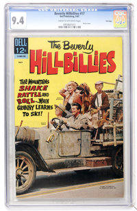 Beverly Hillbillies #17 File Copy (Dell, 1967) CGC NM 9.4 Cream to off-white pages