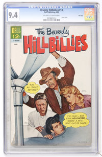 Beverly Hillbillies #13 File Copy (Dell, 1966) CGC NM 9.4 Off-white to white pages