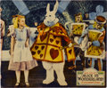 "Movie Posters:Fantasy, Alice in Wonderland (Paramount, 1933). Jumbo Lobby Card (14"" X17"")...."
