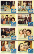 "Movie Posters:Drama, The Great Gatsby (Paramount, 1949). Lobby Card Set of 8 (11"" X14"").... (Total: 8 Items)"