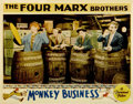 "Movie Posters:Comedy, Monkey Business (Paramount, 1931). Lobby Card (11"" X 14"")...."