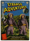 Golden Age (1938-1955):Science Fiction, Strange Adventures #1 (DC, 1950) Condition: GD/VG....