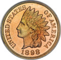 Proof Indian Cents, 1898 1C PR67 Red PCGS....