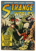 Golden Age (1938-1955):Science Fiction, Strange Worlds #3 (Avon, 1951) Condition: GD....