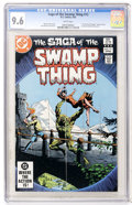 Modern Age (1980-Present):Horror, Swamp Thing #12 (DC, 1983) CGC NM+ 9.6 White pages....