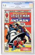Modern Age (1980-Present):Superhero, Marvel Team-Up #103 Spider-Man and Ant-Man (Marvel, 1981) CGC NM/MT9.8 White pages....