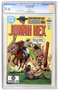 Modern Age (1980-Present):Western, Jonah Hex #59 (DC, 1982) CGC NM+ 9.6 White pages....