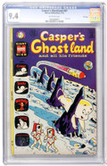 Bronze Age (1970-1979):Cartoon Character, Casper's Ghostland #67 File Copy (Harvey, 1972) CGC NM 9.4Off-white pages....