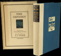 Books:Signed Editions, [N. C. Wyeth, illustrator]. Homer. The Odyssey of Homer.[Boston:] Houghton Mifflin Company, 1929....