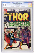Silver Age (1956-1969):Superhero, Journey Into Mystery #109 (Marvel, 1964) CGC VF+ 8.5 Off-white to white pages....