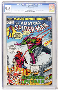 The Amazing Spider-Man #122 (Marvel, 1973) CGC NM+ 9.6 White pages