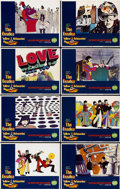 "Movie Posters:Animated, Yellow Submarine (United Artists, 1968). Lobby Card Set of 8 (11"" X14"").... (Total: 8 Items)"