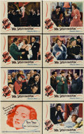 "Movie Posters:Romance, Mr. Skeffington (Warner Brothers, 1944). Lobby Card Set of 8 (11"" X14"").... (Total: 8 Items)"