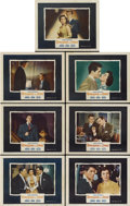"Movie Posters:Hitchcock, Strangers on a Train (Warner Brothers, 1951). Lobby Cards (7) (11""X 14"").... (Total: 7 Items)"