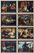 """Movie Posters:Science Fiction, Them! (Warner Brothers, 1954). Lobby Card Set of 8 (11"""" X 14"""")....(Total: 8 Items)"""