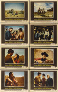 "Movie Posters:Western, The Searchers (Warner Brothers, 1956). Lobby Card Set of 8 (11"" X 14"").... (Total: 8 Items)"