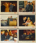 "Movie Posters:Hitchcock, The Wrong Man (Warner Brothers, 1957). Lobby Cards (6) (11"" X14"").... (Total: 6 Items)"