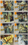 "Movie Posters:Fantasy, She (RKO, 1935). Lobby Card Set of 8 (11"" X 14"").... (Total: 8Items)"