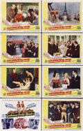 "Movie Posters:Musical, Gentlemen Prefer Blondes (20th Century Fox, 1953). Lobby Card Setof 8 (11"" X 14"").... (Total: 8 Items)"
