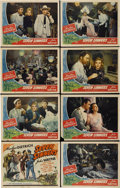 "Movie Posters:Adventure, Seven Sinners (Universal, 1940). Lobby Card Set of 8 (11"" X14"").... (Total: 8 Items)"