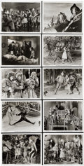 "Movie Posters:Musical, The Wizard of Oz (MGM, 1939). Stills (10) (8"" X 10"").... (Total: 10Items)"
