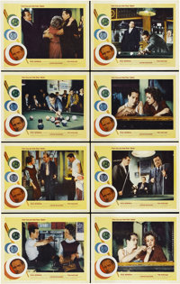 "The Hustler (20th Century Fox, R-1964). Lobby Card Set of 8 (11"" X 14"").... (Total: 8 Items)"