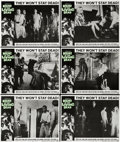 """Movie Posters:Horror, Night of the Living Dead (Continental, 1968). Lobby Cards (6) (11"""" X 14"""").... (Total: 6 Item)"""