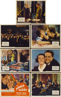 """Movie Posters:Drama, The Power and the Glory (Fox, 1933). Title Lobby Card and LobbyCards (6) (11"""" X 14"""").... (Total: 7 Items)"""