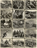 "Movie Posters:War, Sands of Iwo Jima Publicity Stills (Republic, 1950). Deluxe Stills(15) (11"" X 14"").... (Total: 16 Items)"