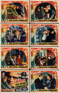 """Movie Posters:Horror, The Devil Commands (Columbia, 1941). Lobby Card Set of 8 (11"""" X 14"""").... (Total: 8 Items)"""