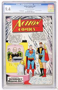 Action Comics #307 (DC, 1963) CGC NM 9.4 Off-white to white pages