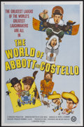 "Movie Posters:Comedy, The World of Abbott and Costello (Universal, 1965). One Sheet (27""X 41""). Comedy...."