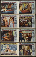 """Movie Posters:Crime, Slaughter on 10th Avenue (Universal, 1957). Lobby Card Set of 8 (11"""" X 14""""). Crime.... (Total: 8 Items)"""