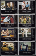 "Movie Posters:Academy Award Winner, Annie Hall (United Artists, 1977). Lobby Card Set of 8 (11"" X 14"").Academy Award Winner.... (Total: 8 Items)"