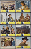 "Movie Posters:Western, The Alamo (United Artists, 1960 and R-1967). Lobby Cards (8) (11"" X 14""). Western.... (Total: 8 Items)"