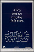 "Movie Posters:Science Fiction, Star Wars (20th Century Fox, 1977). One Sheet (27"" X 41"") AdvanceStyle B. Science Fiction...."