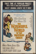 "Movie Posters:Fantasy, The Wonderful World of the Brothers Grimm (MGM, 1962). One Sheet(27"" X 41""). Fantasy...."