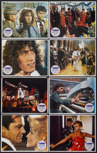 """Tommy (Columbia, 1975). Lobby Card Set of 8 (11"""" X 14""""). Rock and Roll.... (Total: 8 Items)"""