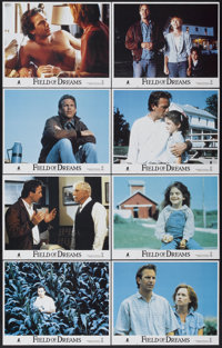 "Field of Dreams (Tri-Star, 1989). Lobby Card Set of 8 (11"" X 14""). Fantasy.... (Total: 8 Items)"