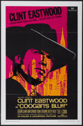 "Movie Posters:Crime, Coogan's Bluff (Universal, 1968). One Sheet (27"" X 41""). Crime...."