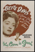 "Movie Posters:Drama, The Corn Is Green (Warner Brothers, 1945). One Sheet (27"" X 41""). Drama...."