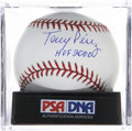"Autographs:Baseballs, Tony Perez ""HOF 2000"" Single Signed Baseball, PSA Gem Mint 10. ..."