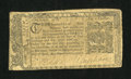 Colonial Notes:Maryland, Maryland April 10, 1774 $1/6 Fine....