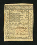 Colonial Notes:Delaware, Delaware January 1, 1776 20s About New....