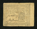 Colonial Notes:Pennsylvania, Pennsylvania March 20, 1773 6s Very Fine....