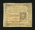 Colonial Notes:Pennsylvania, Pennsylvania March 25, 1775 6s Extremely Fine....