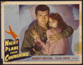 "Movie Posters:War, Night Plane from Chungking (Paramount, 1943). Lobby Card (11"" X14""). War...."