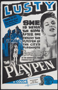"""Movie Posters:Adult, The Playpen (American Art Films, 1967). One Sheet (26.5"""" X 41.5""""). Adult...."""